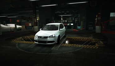 For speed volkswagen golf world garage nfs HD wallpaper