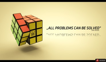 Quotes rubiks cube HD wallpaper