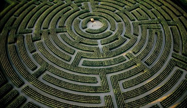 France mazes hedges labrinth HD wallpaper