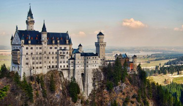 Castillo de neuschwanstein baviera alemania HD wallpaper