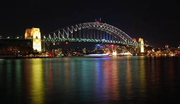 Harbour bridge sydney architecture bridges cityscapes HD wallpaper