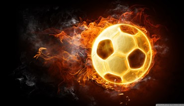 Soccer balls HD wallpaper