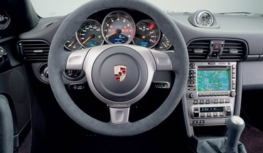Interior 2008 porsche 911 gt2 HD wallpaper