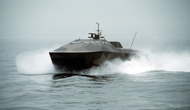 Hswms smyge stealth ship sweden swedish army hovercraft HD wallpaper