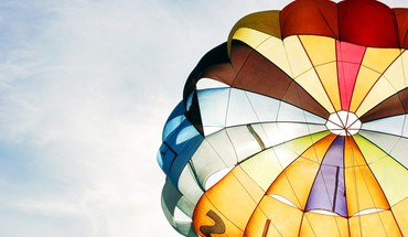 Colorful air balloon HD wallpaper