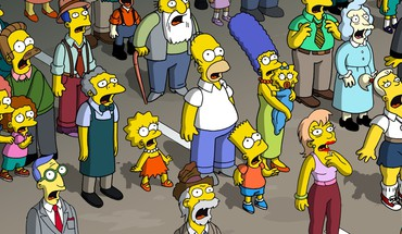 Cartoons the simpsons HD wallpaper