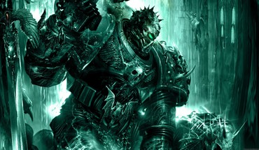 Artwork chaos space marine soul hunter talos HD wallpaper