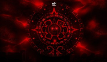 Aztec red HD wallpaper