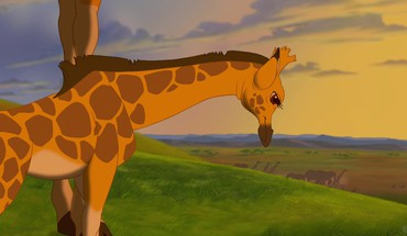 3d disney company the lion king cartoons giraffes HD wallpaper