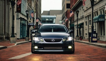 Cars lexus vehicles front view gs HD wallpaper