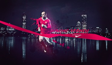 Skylines nike manchester united fc wayne rooney HD wallpaper