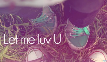 Let me love you HD wallpaper