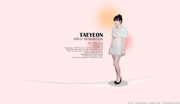Girls generation snsd korean kim taeyeon bangs HD wallpaper