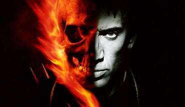 Ghost rider nicolas cage comics skulls superheroes HD wallpaper
