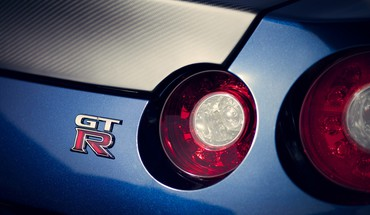 Domestic market nissan gtr cars closeup logos HD wallpaper