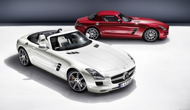 Mercedes Mercedes-Benz Benz SLS  HD wallpaper