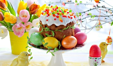 Easter cake HD wallpaper