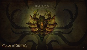 Game of thrones ii house greyjoy drones HD wallpaper
