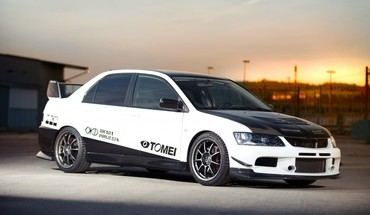 Cars vehicles tuning mitsubishi lancer evolution viii HD wallpaper
