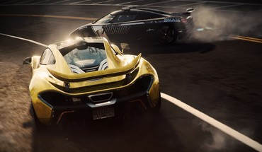 E3 McLaren P1 Need for Speed ​​konkurentų  HD wallpaper