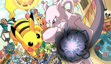 Machamp Mewtwo Nintendo Pikachu Pokemon  HD wallpaper
