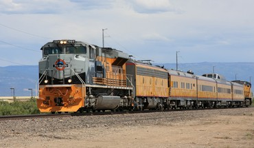 Trains locomotives widescreen 1989 HD wallpaper