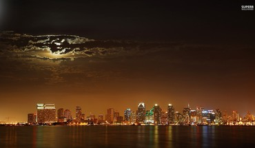 San diego nuit  HD wallpaper
