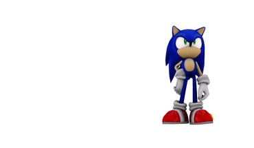 3d sonic the hedgehog twilight wolves HD wallpaper