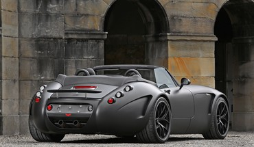 Cars vehicles wiesmann roadster mf5 black bat HD wallpaper