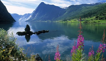 Norway fjord HD wallpaper