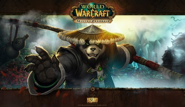 Panda fighter HD wallpaper