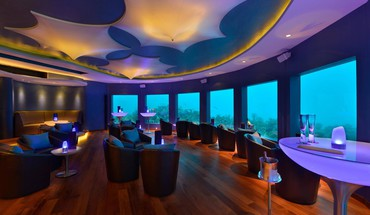 Subsix underwater nightclub in niyama maldives HD wallpaper