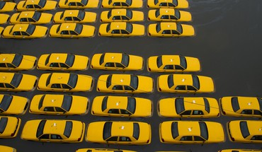 City Taxi ouragan voitures Yellow Cab de sable  HD wallpaper