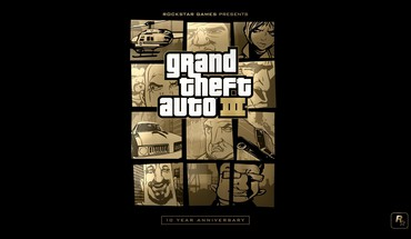 Grand theft auto rockstar games anniversary iii HD wallpaper