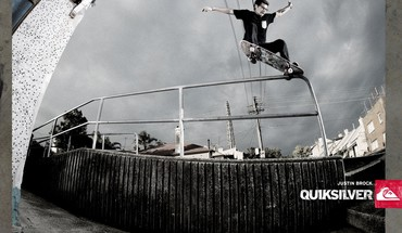 Skate Quiksilver  HD wallpaper