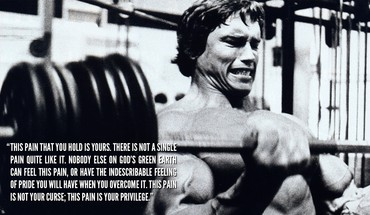 Pain arnold schwarzenegger bodybuilding weights inspiration muscle HD wallpaper