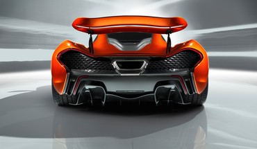 Design static mclaren p1 HD wallpaper