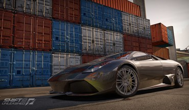 Lamborghini Murcielago Need for Speed ​​SHIFT 2 déclenché  HD wallpaper