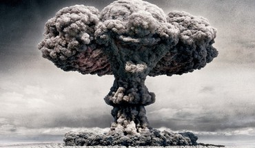 Dust cloud atomic clowns explosions funny HD wallpaper