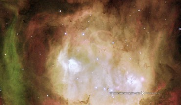 Outer space stars nebulae head hubble ghost HD wallpaper