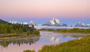 Snake river in the grand tetons HD wallpaper