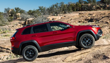 Cherokee jeep cars rocks HD wallpaper