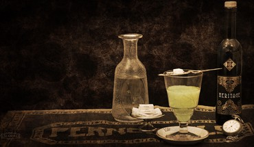 Alcohol absinthe HD wallpaper