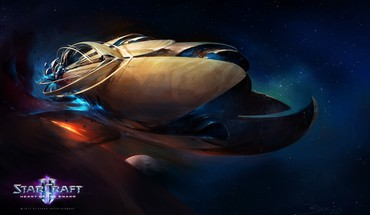 Heart of the Swarm air ii pc  HD wallpaper