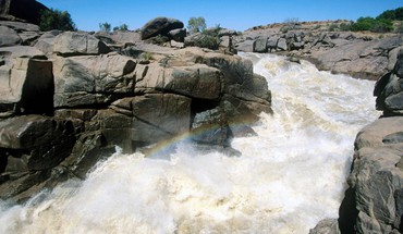 Orange river augrabies falls national park south africa HD wallpaper