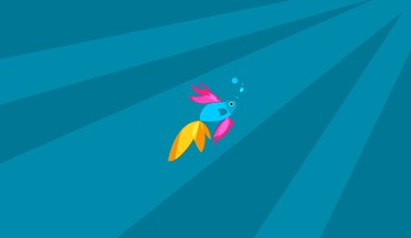 Minimalistic fish digital art artwork windows 8.1 HD wallpaper