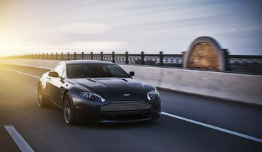 Schwarze Autos Sportwagen Aston Martin  HD wallpaper