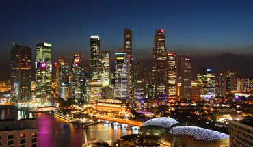 Cityscapes singapore HD wallpaper
