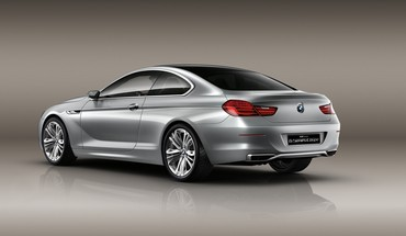 Bmw concept 6 back cars coupe series HD wallpaper