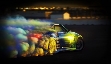 Falken Nissan 350Z Automobilautos treiben  HD wallpaper